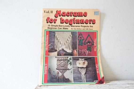Macrame Book Cover Tutorial : Macrame book tutorial diy magazine workbook