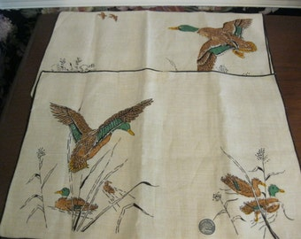 Dewan linen placemats with duck theme
