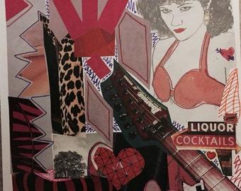 Bad Women Matter - Riot Grrl Art Print