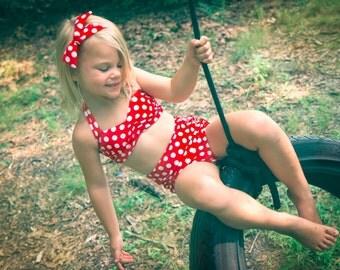 Polka Dots Bikini for Girls