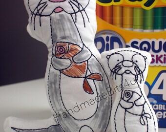 DoodleIts - Doodle It - Otter - Washable Softie - Plushie