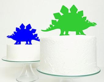 Stegosaurus Dinosaur Cake Topper