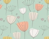 The Littlest - Floral Frolic Apricot from Art Gallery - Choose Your Cut