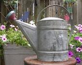 Vintage Glavanized Watering Can
