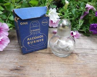 Vintage Mid Century Wheaton Alcohol Burner
