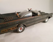Classicwrecks Rusted Scale Model Batmobile Car