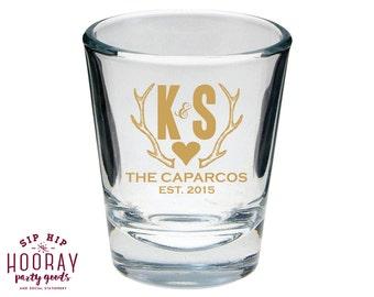 Rustic Shot Glasses, Wedding Favors, Personalized Shot Glasses, Shot Glasses, Wedding Shot Glasses, Custom Shot Glasses, Shot Glasses, 1041
