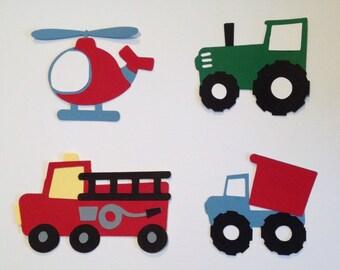 Boy Transportation Toys Die Cuts