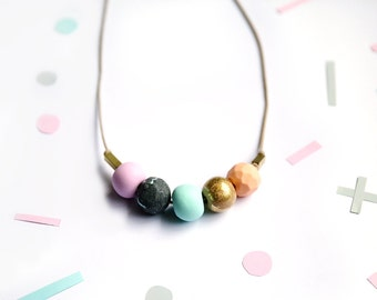 5 Bead Pastel Mix
