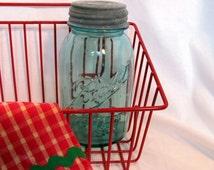 Blue Ball Canning Jar Number 13 Quart Size