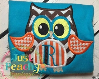 Halloween Hoot Machine Embroidery Applique Design Buy 2 for 4! Use Coupon Code 50OFF