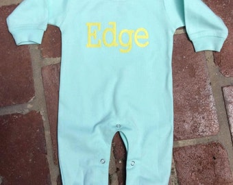 Monag Baby Girl or Boy Romper Playsuit Long Sleeve
