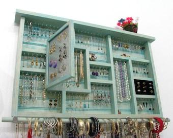Large Post Earring holder dangle earring holder jewelry holder