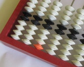 Vintage  Abacus, 1960s, school abacus,   Home decor