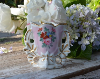 Antique French Porcelain, Old Paris Porcelain, Vintage Vases, French Country Decor, Vintage Wedding