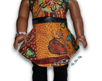 """Top & Leggings Outfit 18"""" Doll Clothes [41419A]"""