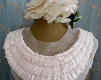 Soft Pale Pink Appliques