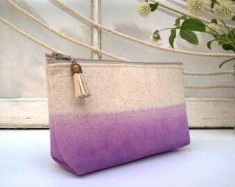Purple Wedding Clutch Purse, Lavender Wedding Ideas, Ombre Bag - 1 Bag