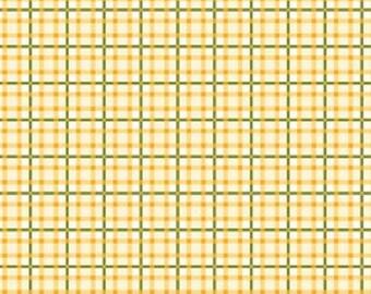 Wilmington Prints - Sunshine Orchard - Gingham Ivory/Yellow