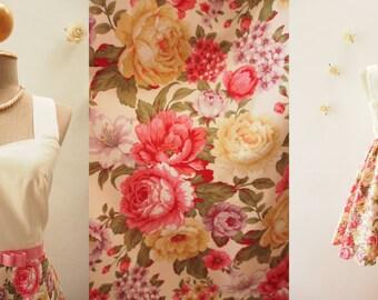 Short Dress Floral Dress Summer Dress Floral Sweet Dress Floral Bridesmaid Dress Tea Dress Pink Floral Dress Wedding Dress- XS-XL,Custom