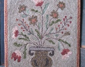 Goos Nest Gatherings from the Garden Punchneedle Embroidery Pattern