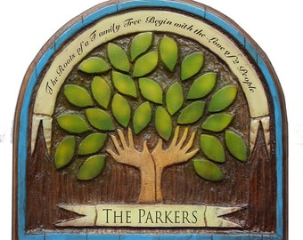 Family Tree Personalized Sign