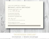 Northern Chelan | Bohemian or Tribal Party or Shower Invitation | Printed or Printable by Darby Cards