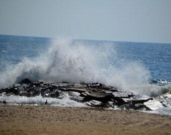 """Asbury Park Beach 8""""x10"""" Print"""