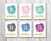 Pregnancy countdown, baby countdown, weekly pregnancy signs, chalkboard sign, pregnancy photo props