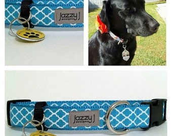 Dog Collar Pet ID Tag Holder