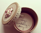 Completely Customized Bridesmaid Invitation Gift Boxes