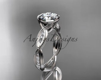 platinum diamond wedding ring,engagement ring ADLR24