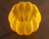 3D printed Pumpkin shaped LED tea light holder