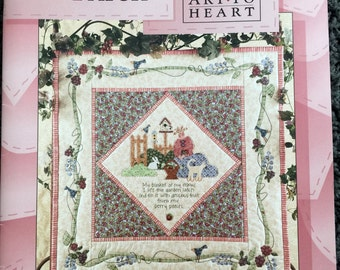 Art to Heart In My Berry Patch Quilting Book by Nancy Halvorsen Quilt Booklet