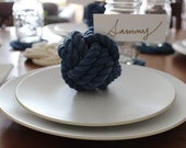 Navy Blue Rope Knots
