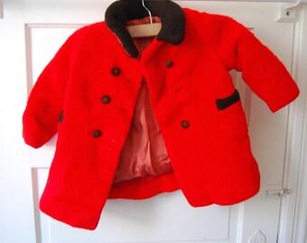 Vintage Baby Winter Coat
