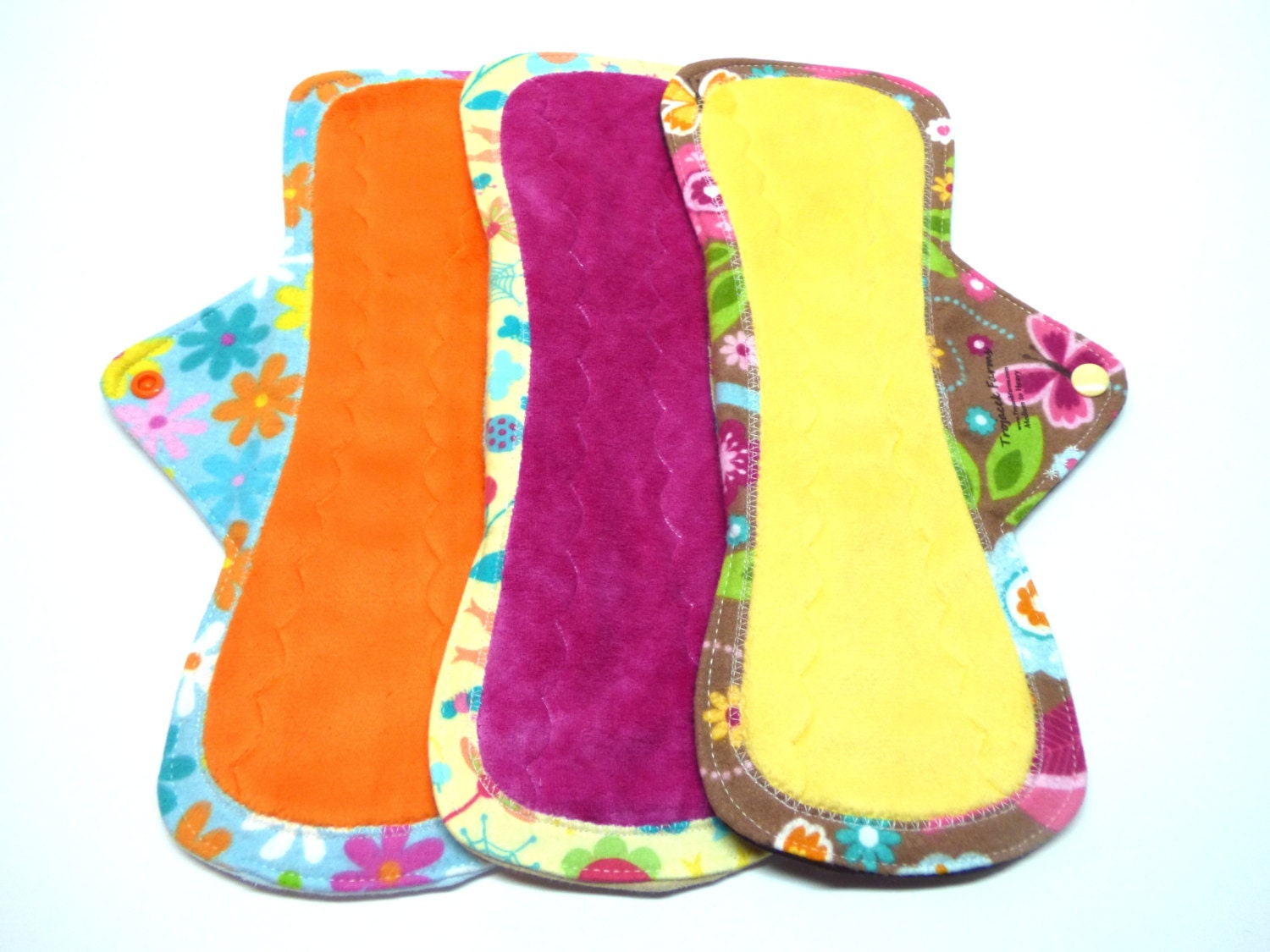 new 12 obv or minky mama cloth menstrual pads cloth