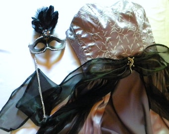 Ballroom Masquerade....Black Lavendry