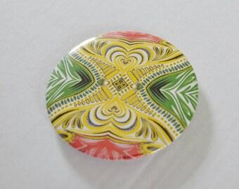African Colours art design fridge magnet bottle opener yellow red green gift