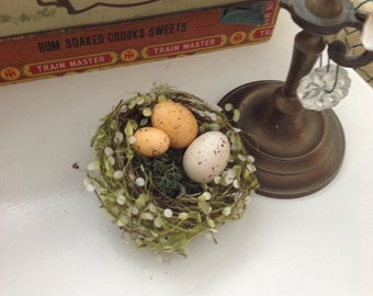 Cottage bird nest, rustic decor, birds nest