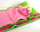 Girl's Valentine's Gift - DOLL NAP MAT - Doll Bed