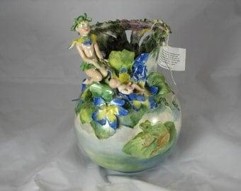 Porcelain Fairy Vase