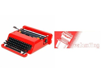 Olivetti Valentine Portable Typewriter User's Manual