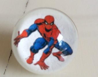 Spiderman Ring - Spiderman Jewelry - Spiderman - superhero - ring - photo ring - resin ring