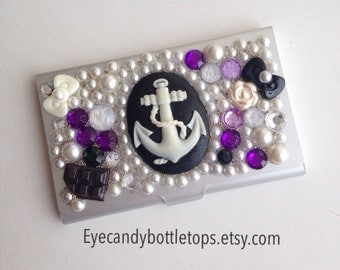 Anchor Business Card Holder