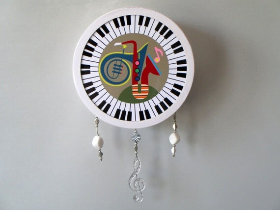 Piano Music Wall Decor : Music wall art decor piano saxophone by iqstudio
