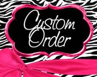 Custom Order Elaine Bottle