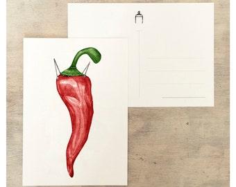 Pepper up postcard