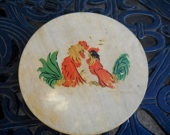 Vintage Tortilla Press, Roosters