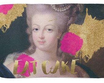 Marie Antoinette Tea Towel - French tea towel - Kitchen decor